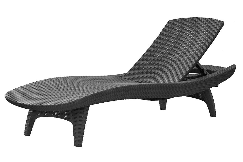 Preferred Keter Chaise Lounges With Regard To Pacific Sun Lounger (View 7 of 15)