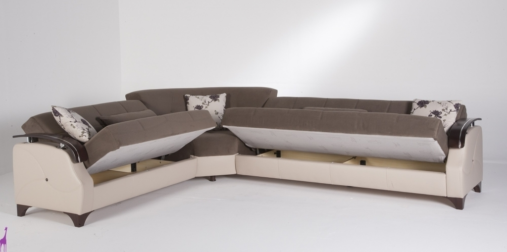 Preferred L Shaped Sectional Sleeper Sofas In Enchanting L Shaped Sleeper Sofa Sectional Sleeper Sofa With Queen (View 7 of 10)