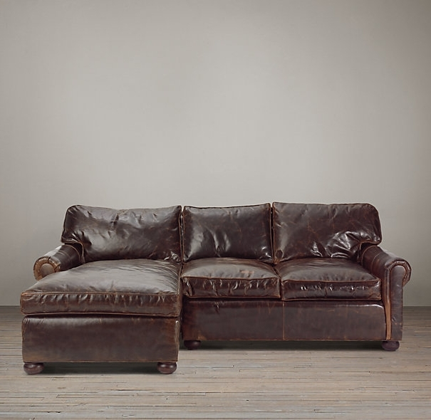 Preferred Leather Sectionals With Chaise With Regard To Small Sectional Sofa With Chaise: Perfect Choice For A Small Space (View 14 of 15)