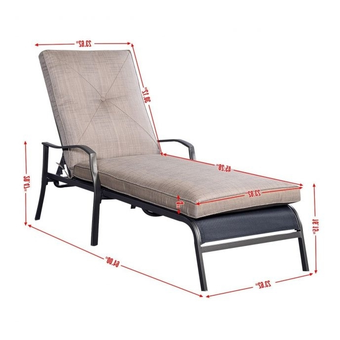 Preferred Martha Stewart Outdoor Chaise Lounge Chairs Inside Outdoor : Modern Chaise Chairs Stacking Patio Chairs White Outdoor (View 12 of 15)