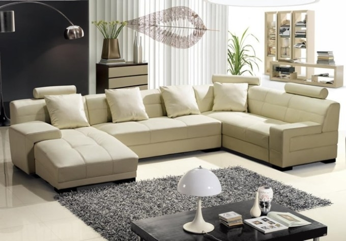 Preferred Modern U Shaped Sectional Sofas Catosfera Net For Plans 18 Regarding Modern U Shaped Sectional Sofas (View 8 of 10)