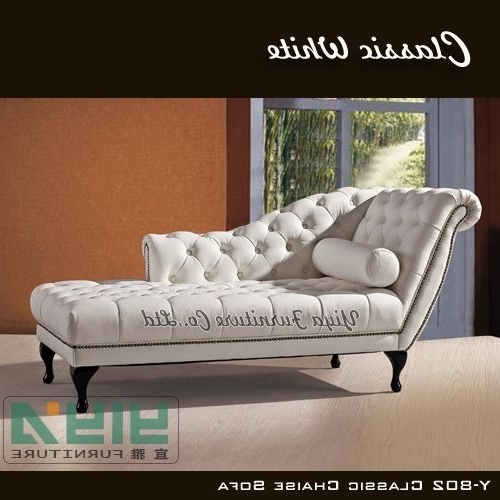 Preferred Modern White Classic European Leisure Style Chaise Lounge Chair In European Chaise Lounge Chairs (View 13 of 15)