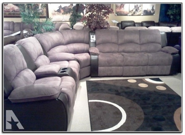 Preferred Sectional Sofas With Cup Holders Intended For Sectional Sofa (View 6 of 10)