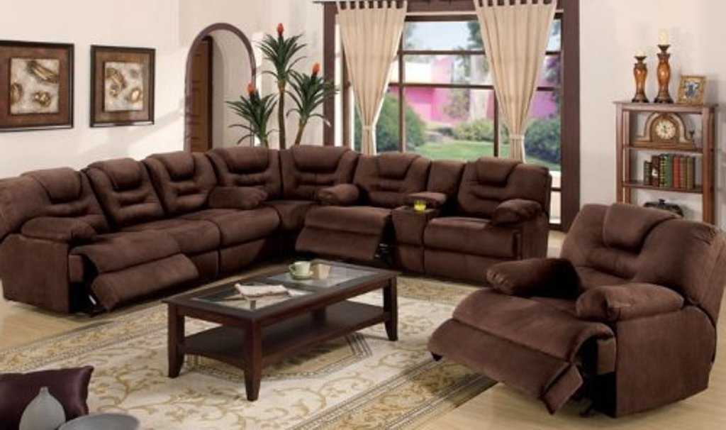 Preferred Sectional Sofas With Recliners Inside The Benefits Of Large Sectional Sofas – Elites Home Decor (View 6 of 10)