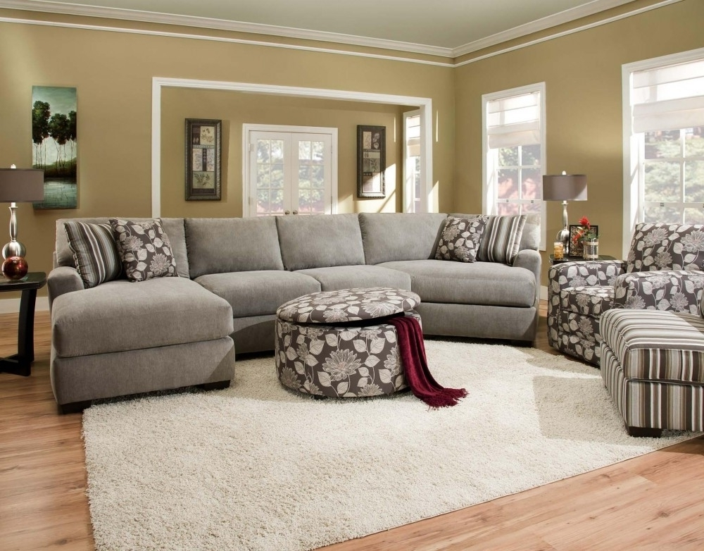 Preferred Sectionals With Cuddler And Chaise In Corinthian Josephine 3 Piece Sectional With Chaise Amp Cuddler  (View 7 of 15)