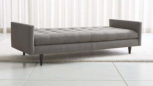 Preferred Sofa Chaise Lounges Within Extraordinary Chaise Lounge Sofas Crate And Barrel Sofa (View 8 of 15)