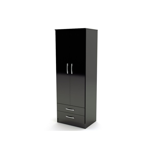 Preferred Stunning Black Wardrobe With Drawers Best 25 White Wardrobe Ideas Intended For Black Wardrobes With Drawers (View 13 of 15)