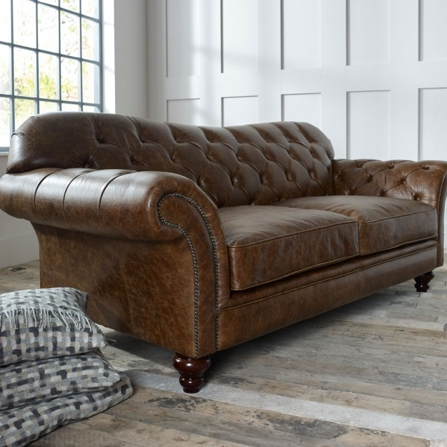 Preferred The Chesterfield Co™: Leather Chesterfield Sofas, Armchairs & More With Regard To Leather Chesterfield Sofas (View 9 of 10)