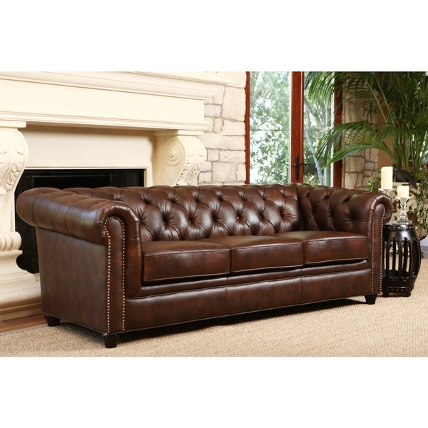 Preferred Tufted Leather Chesterfield Sofas With Regard To Fabulous Chesterfield Tufted Leather Sofa Leather Chesterfield (View 5 of 10)