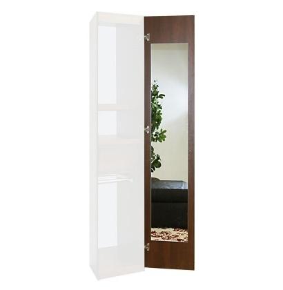 Preferred Wardrobe Closet Interior Mirror Upgrade – Single Mirror, 180 Throughout Single Wardrobes With Mirror (View 9 of 15)