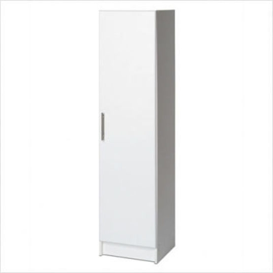 Preferred White Single Door Wardrobes Within Single Door Cupboard – Right – Garage Storage Cupboards – Kitchen (View 9 of 15)