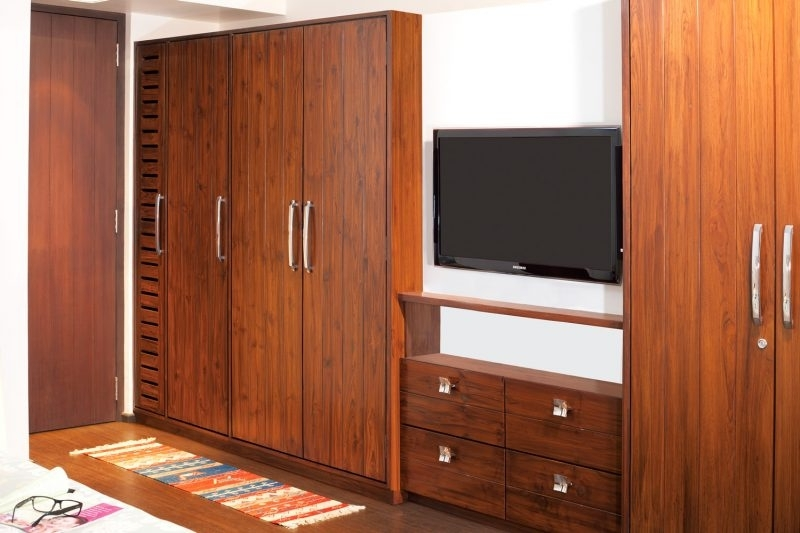Preferred Wood Wardrobes Throughout Wardrobe Design Good Looking Teak Wood Wardrobe Designs Bedroom (View 11 of 15)
