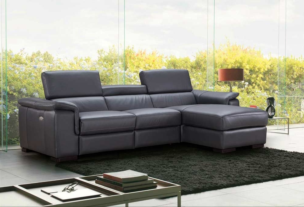 Premium Leather Sectional Sofa With Power Recliner Nj Ariana Pertaining To Famous Nj Sectional Sofas (View 9 of 10)