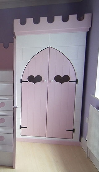 Princess Wardrobes • Children's Themed Bedsdreamcraft Furniture Within Most Up To Date The Princess Wardrobes (View 7 of 15)