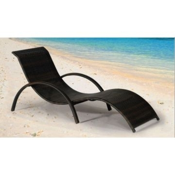 Product Categories > Rattan Lounger – S Shape Outdoor Sun Lounger In Most Popular Chaise Lounge Sun Chairs (View 12 of 15)