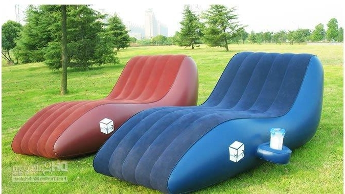 Pvc Leisure Inflatable Sofa/kids Inflatable Sofa Chair/double Size In Recent Inflatable Sofas And Chairs (View 9 of 10)