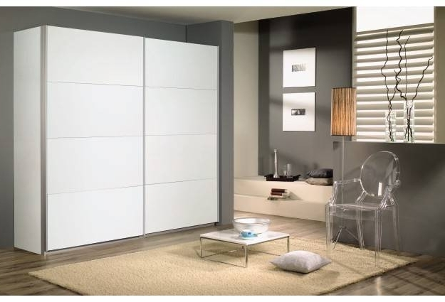 Quadra 2 Door Sliding Wardrobe (W136Cm (View 4 of 15)