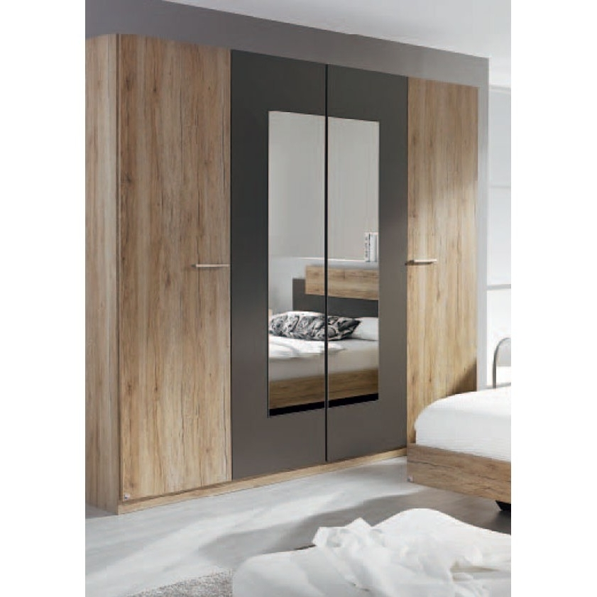 Rauch Borba 4 Door Wardrobe  (View 5 of 15)