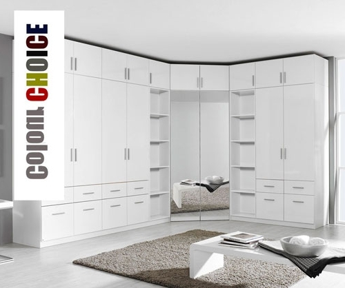 Rauch Cello Bedroom Furniture Throughout Trendy White Bedroom Wardrobes (View 8 of 15)