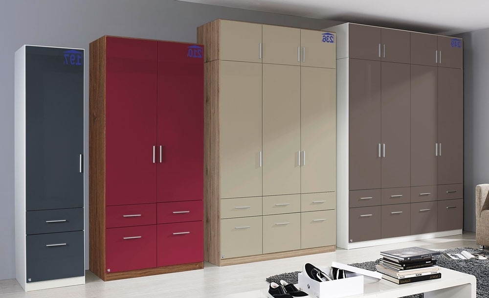Rauch Wardrobes Within Well Known Rauch High Gloss Cello 4 Door Wardrobe (View 11 of 15)