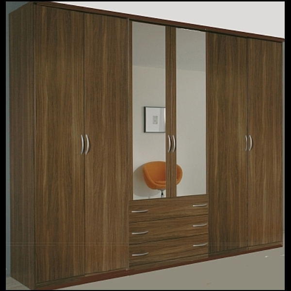 Recent 6 Door Wardrobes Inside Modern Italian Wardrobes High Gloss Bedroom Furniture On Sale (View 6 of 15)