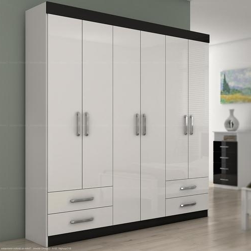 Recent 6 Doors Wardrobes Intended For Wardrobes – Wardrobe 6 Doors And 4 Drawers Zeus Was Sold For R (View 1 of 15)