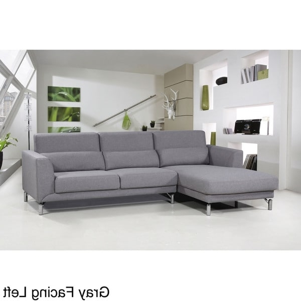 Recent Aria Fabric Modern Sectional Sofa Set – Free Shipping Today For Modern Sectional Sofas (View 8 of 10)