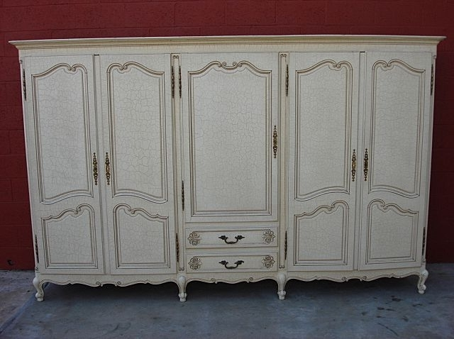 Recent Armoire: Unique Vintage Wardrobe Armoire Antique Armoires For Sale In French Armoires Wardrobes (View 11 of 15)