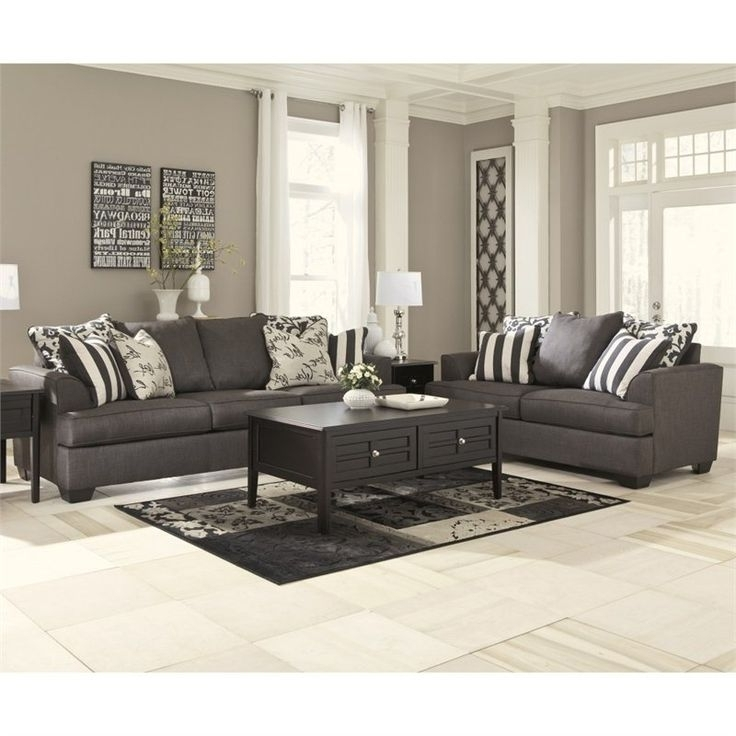 Recent Ashley Furniture Tufted Sofa Best 25 Sofas Ideas In Grey Prepare 5 With Regard To Ashley Tufted Sofas (View 8 of 10)
