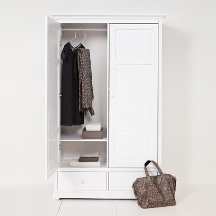 Recent Best Two Door White Wardrobe Ideas (View 8 of 15)