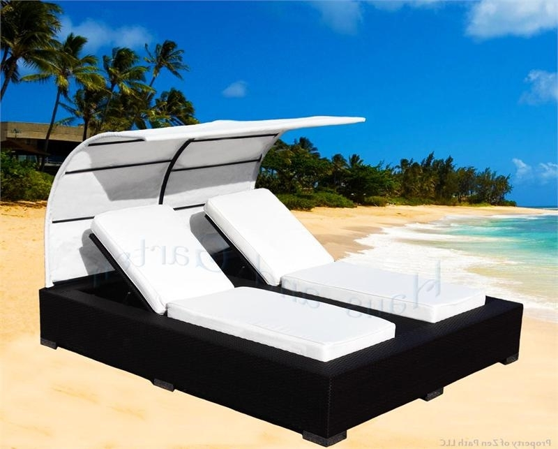 Recent Chaise Lounge Chair With Canopy With Regard To Patio Furniture Canopy Not Included (Gallery 12 of 15)