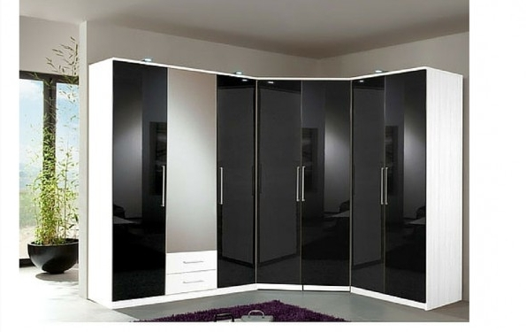 Recent Cheap Black Gloss Wardrobes In Tips On Choosing An L Shaped Wardrobe At Bedroom Sale (View 12 of 15)
