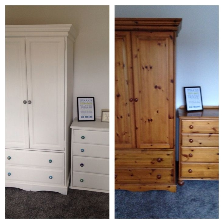 Recent Chic Cheap Wardrobe With Drawers Best 25 Pine Wardrobe Ideas Only For White Pine Wardrobes (View 2 of 15)