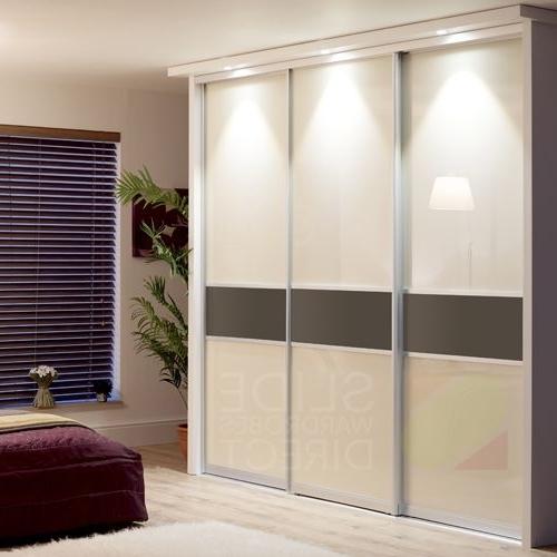 Recent Cream Gloss Wardrobes Doors Inside Sliding Wardrobe Doors (View 10 of 15)