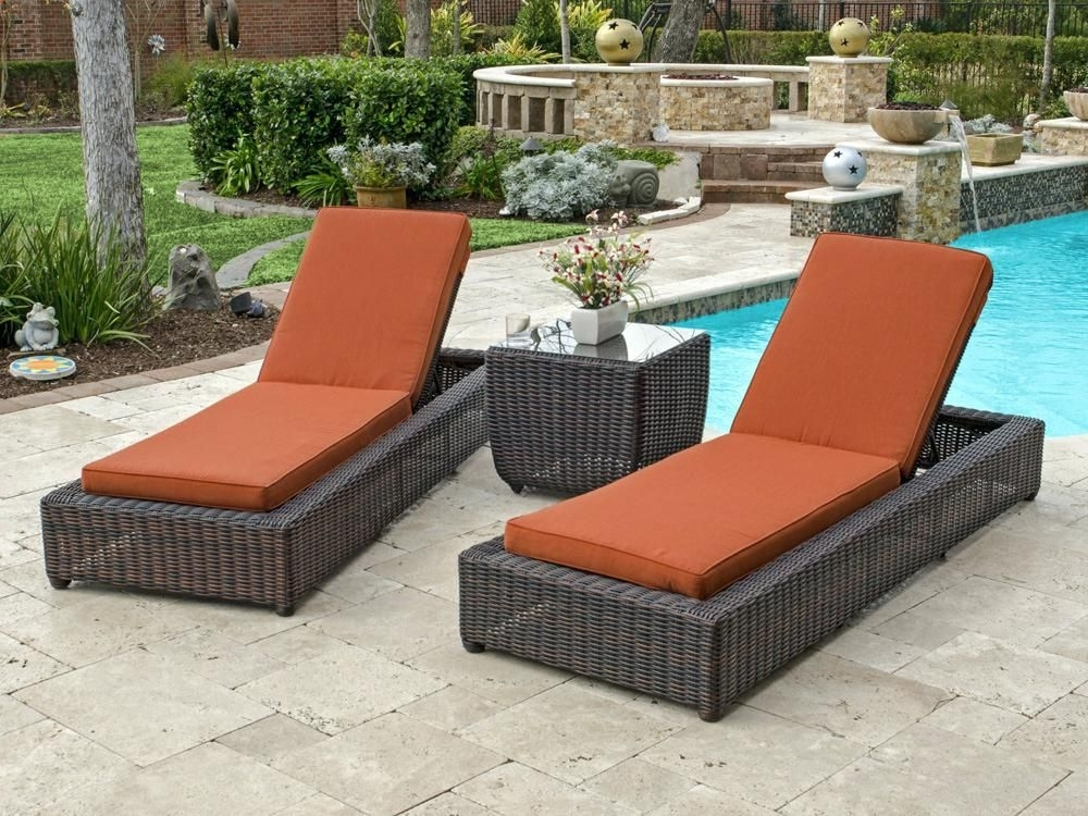 Recent Exquisite Wicker Chaise Lounge Chair Awesome Home Decoration Ideas Regarding Eliana Outdoor Brown Wicker Chaise Lounge Chairs (View 13 of 15)