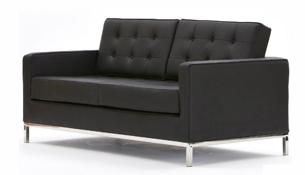 Recent Florence Knoll 2 Seater Leather Sofa Regarding Florence Leather Sofas (View 9 of 10)