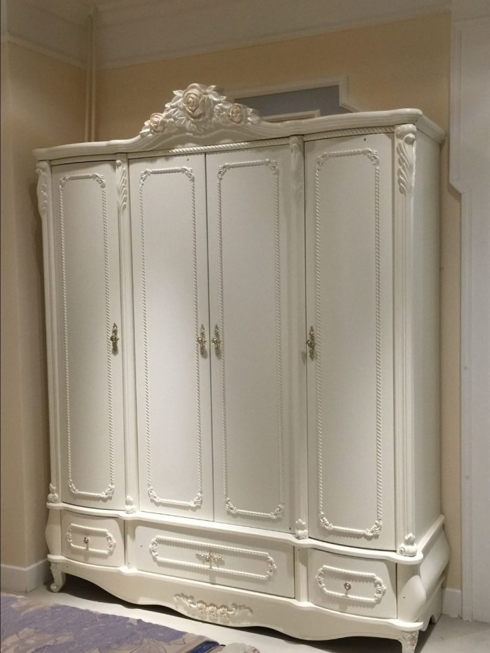 Recent French Style White Wardrobes Within French Style Beds And Furniture Children's Wardrobes White (View 11 of 15)