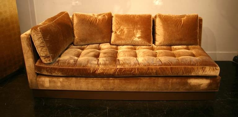Recent Gold Sectional Sofas Inside Gold Sectional Sofa – Home Design Ideas And Pictures (View 10 of 10)