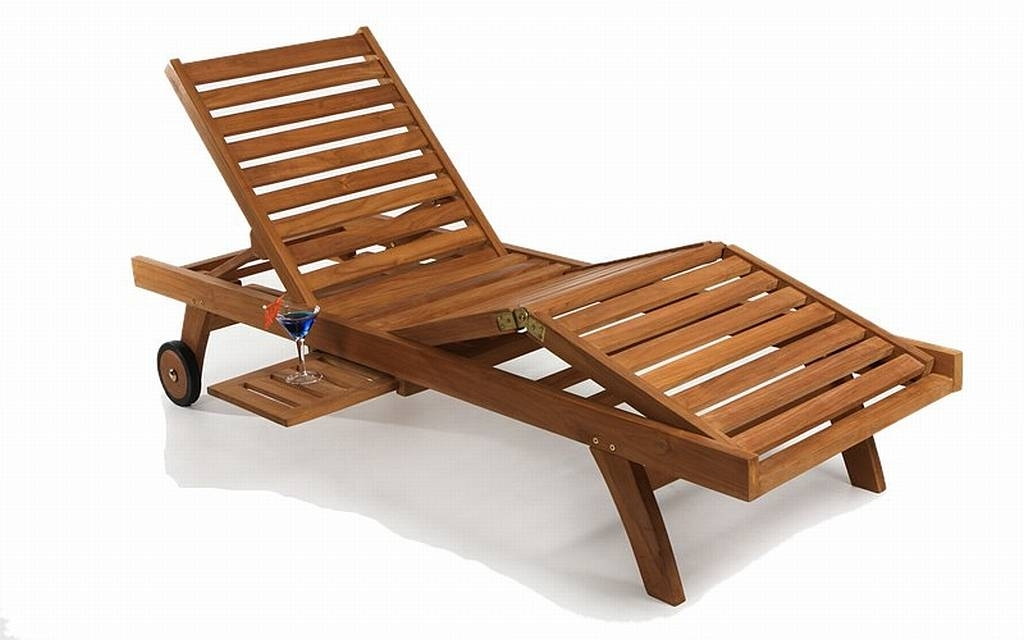 Recent Hardwood Chaise Lounge Chairs With Regard To Innovative Teak Chaise Lounge Outdoor Furniture Free Chair Plans (View 8 of 15)