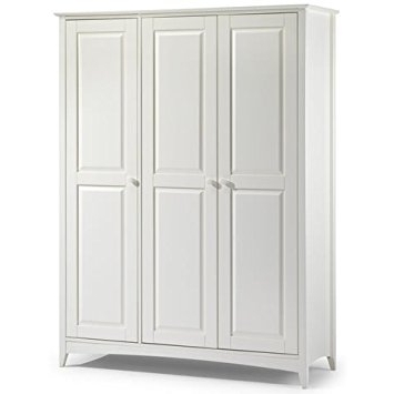 Recent Jayden 3 Door Wardrobe – Classic Shaker Style Wardrobe – Double Pertaining To Double Rail Wardrobes (View 12 of 15)