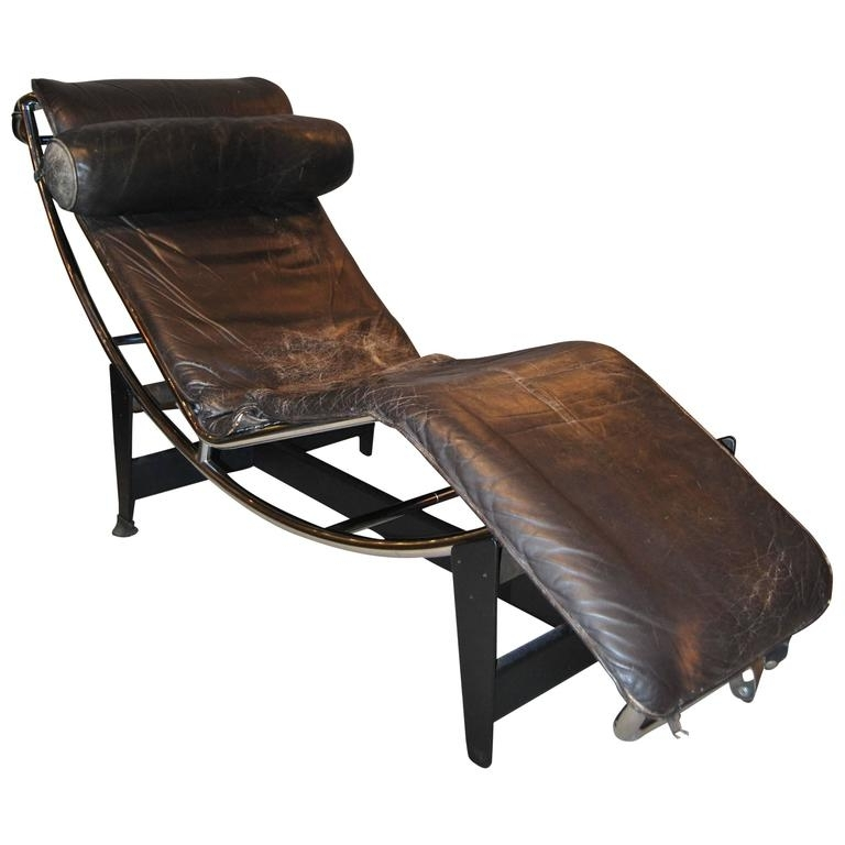 Recent Lc4 Chaise Lounges For Early Le Corbusier/jeanneret/perriand Lc4 Chaise Lounge For Sale (View 13 of 15)