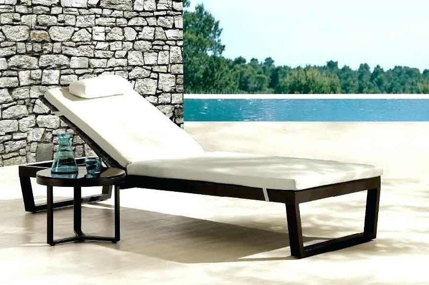 Recent Outdoor Chaise Lounge Chairs Chaise Lounge For Outdoors Gorgeous Pertaining To Patio Chaise Lounges (View 8 of 15)