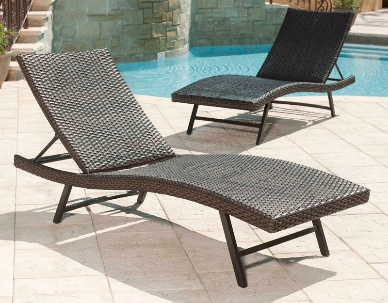 Featured Photo of Portable Outdoor Chaise Lounge Chairs