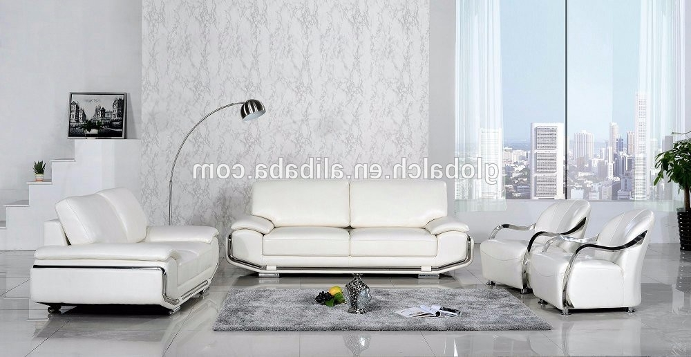 Recent Pure White Leather Sofa For Living Room – Buy Sofa Set,pure White Inside White Leather Sofas (View 8 of 10)