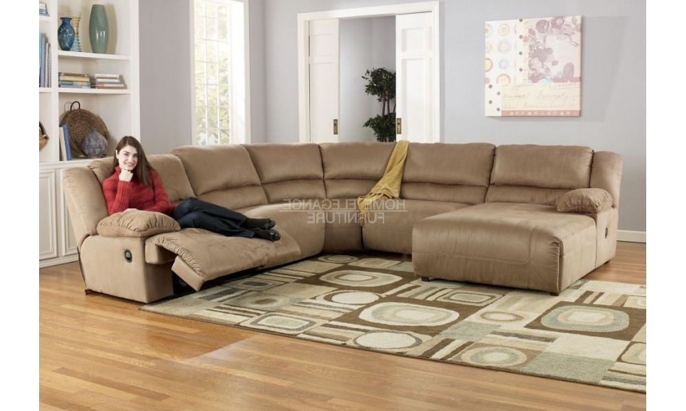 Recent Reclining Sectionals With Chaise Intended For Awesome Sectional Sofas With Chaise And Recliner Photos (View 7 of 15)