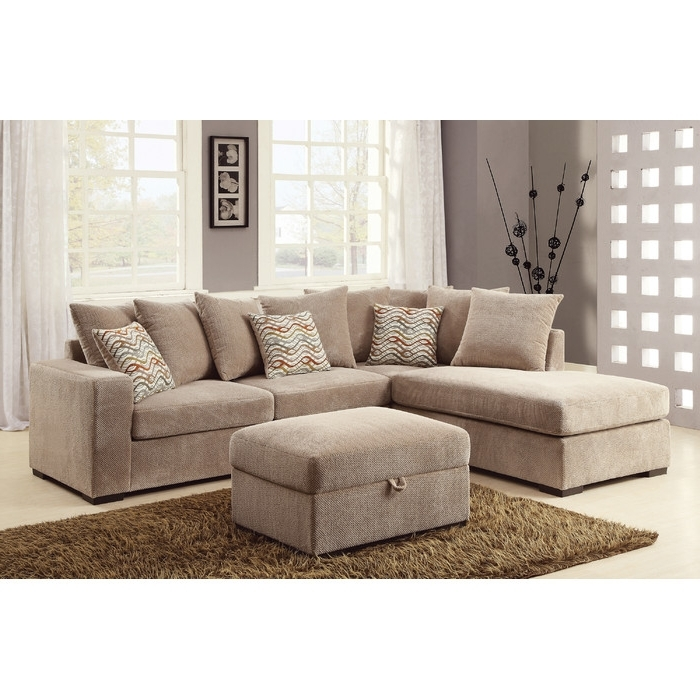 Recent Sectionals With Reversible Chaise With Regard To Loon Peak Albin Chaise Reversible Sectional & Reviews (View 11 of 15)