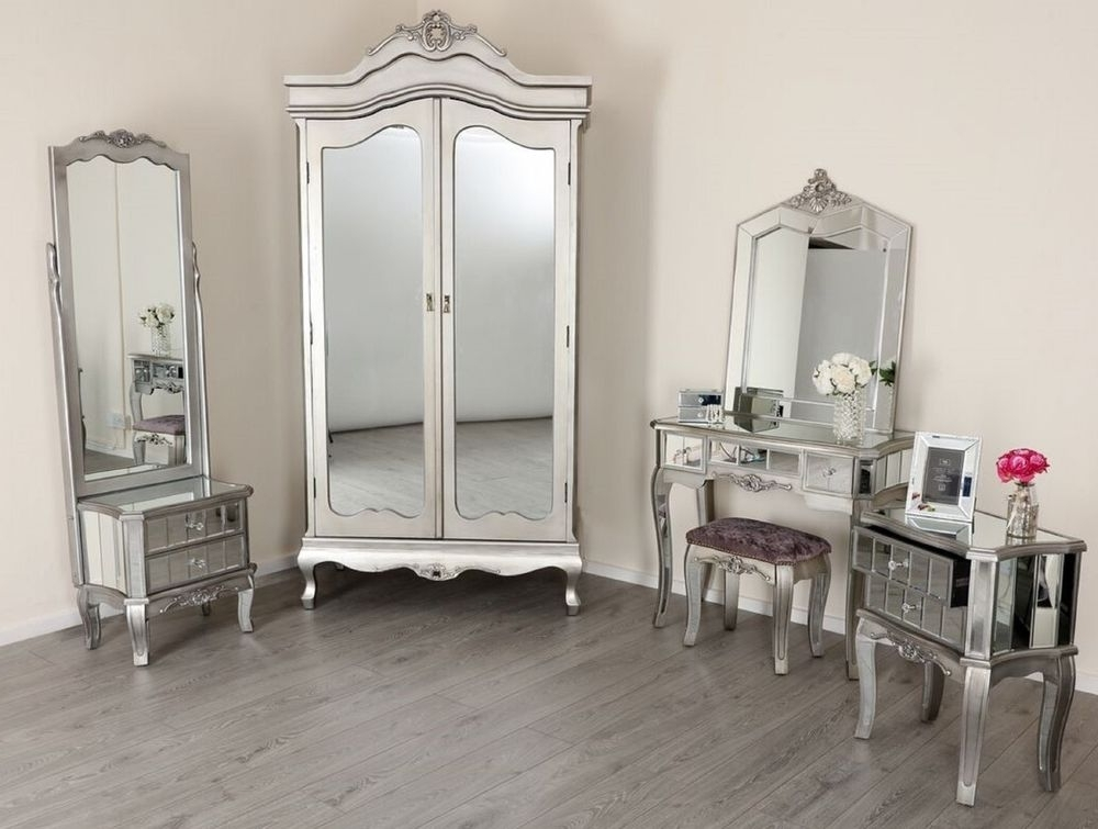 Recent Silver French Wardrobes With Regard To French Wardrobe (View 11 of 15)