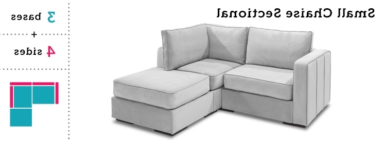 Recent Small Couches With Chaise Pertaining To Sectional Sofa Design: Small Sectional Sofa With Chaise Lounge (View 9 of 15)