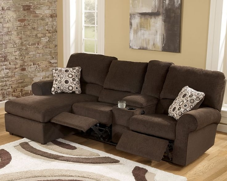 Recent Sofa Beds Design: Astonishing Unique L Shaped Sectional Sofa With With Regard To Sectional Sofas For Small Spaces With Recliners (View 3 of 10)