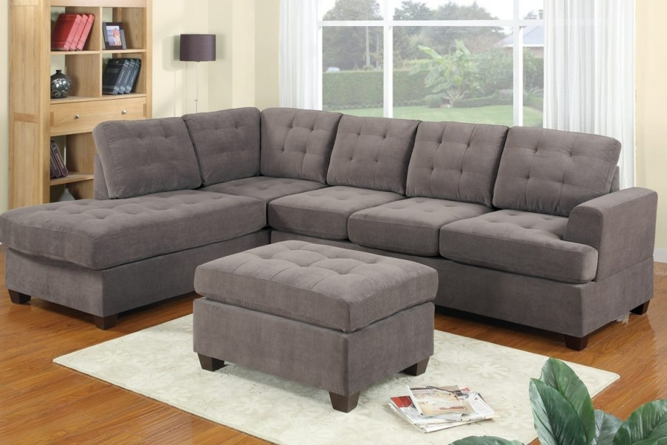 Recent Sofa : Tufted Back Sectional Sofa Velvet Sectional Sofa 3 Piece Regarding 3 Piece Sectional Sleeper Sofas (View 8 of 10)